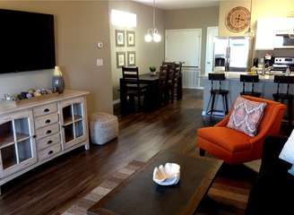 Open Concept Living, Dining and Kitchen (2nd Floor)