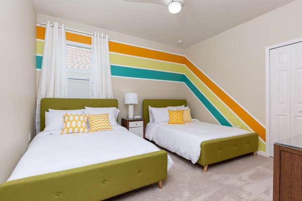 Full / Full Upstairs Bedroom 55