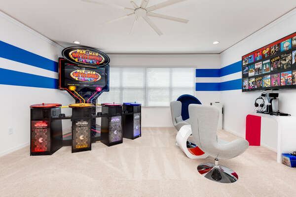 Playstation 4 and huge 4 player Pac Man arcade