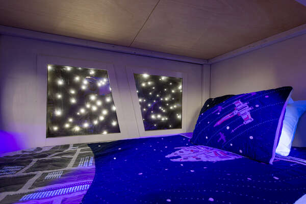 Stars out of the window