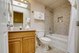Hallway bathroom upstairs.