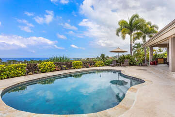 Private Pool with Ocean Views at Hale Akoa