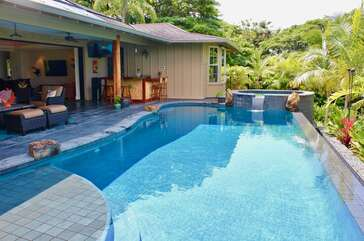 Pool, Heated Plunge Pool and Covered Lanai