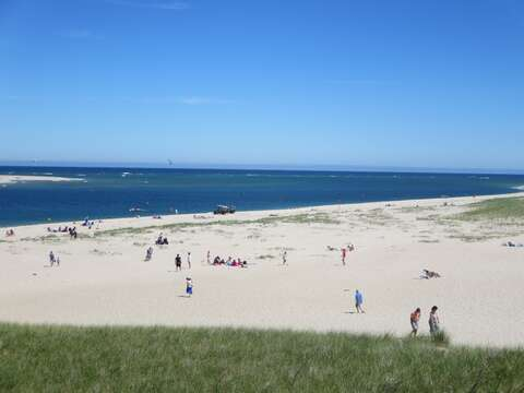 Lighthouse beach- great yoga offered in the early morning- 30 min parking or get your beach sticker to park on Bridge st.  Chatham Cape Cod - New England Vacation Rentals