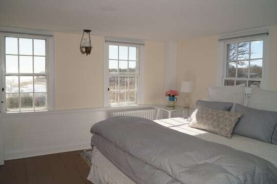 2nd floor. Bedroom #3 with a King bed and lovely views- 117 Old Wharf Road Chatham Cape Cod - New England Vacation Rentals