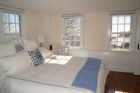2nd floor. Bedroom #2 with a King bed and lovely views - 117 Old Wharf Road Chatham Cape Cod - New England Vacation Rentals