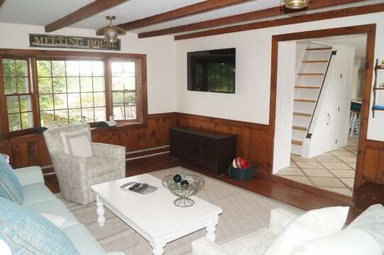 Flat screen TV and WiFi - 117 Old Wharf Road Chatham Cape Cod - New England Vacation Rentals