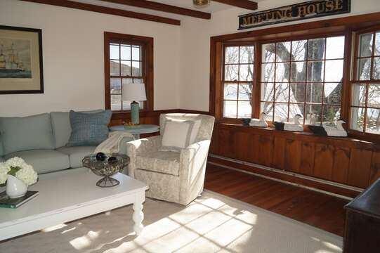 Perfect place to grab a summer book and enjoy a little sun and a water view!- 117 Old Wharf Road Chatham Cape Cod - New England Vacation Rentals