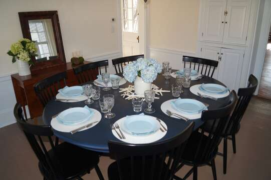 Come gather together and enjoy a family meal -117 Old Wharf Road Chatham Cape Cod - New England Vacation Rentals