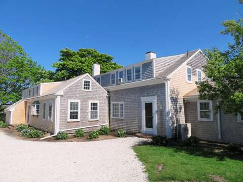 Easy access to the home from the driveway- 117 Old Wharf Road Chatham Cape Cod - New England Vacation Rentals