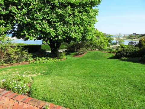 Views of the Chatham Harbor and out to the Atlantic Ocean -and a big yard for family fun- 117 Old Wharf Road Chatham Cape Cod - New England Vacation Rentals