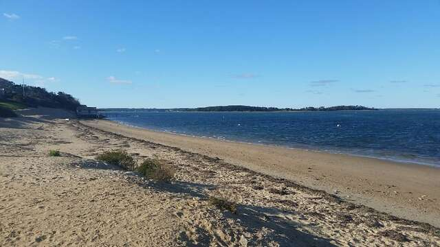 Just a short stroll over to Scateree Town Landing with your cup of java in the morning - Chatham Cape Cod - New England Vacation Rentals