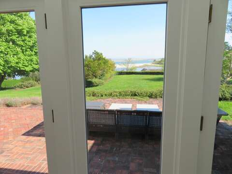 View from the sun room off of the Master Bedroom - 117 Old Wharf Road Chatham Cape Cod - New England Vacation Rentals