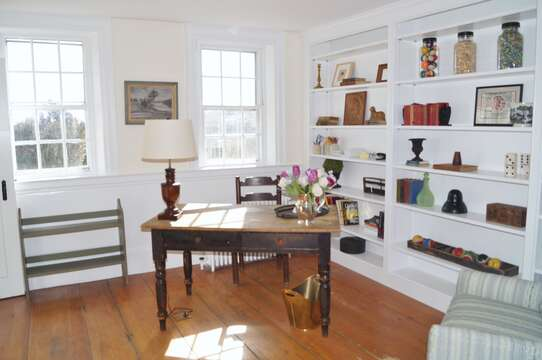 The Study has a desk in case you need a quiet space to do some work or just write out a postcard! - 117 Old Wharf Road Chatham Cape Cod - New England Vacation Rentals