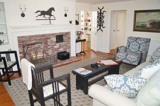 another view of Living room - 117 Old Wharf Road Chatham Cape Cod - New England Vacation Rentals