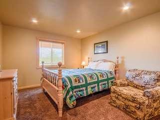 Bedroom #1 on Main Level