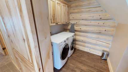 A washer and dryer is also available for the duration of your stay.