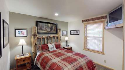 Come relax in the comfy beds that Bear Creek has to offer.