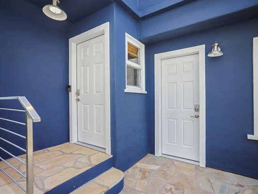 Front Door & Murphy Room Access Door