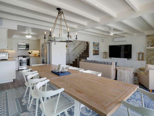 Open Concept Living Space - First Floor