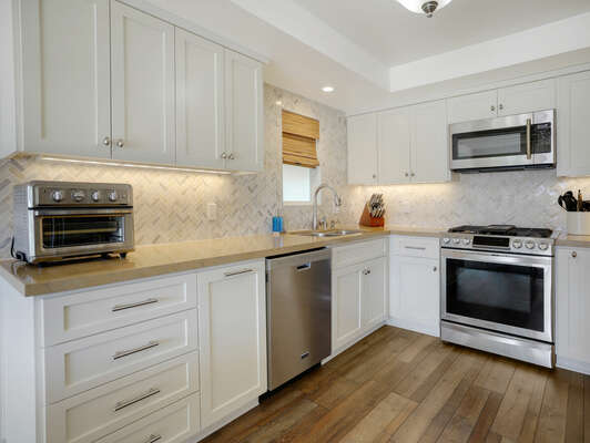 Fully Equipped Kitchen  - First Floor