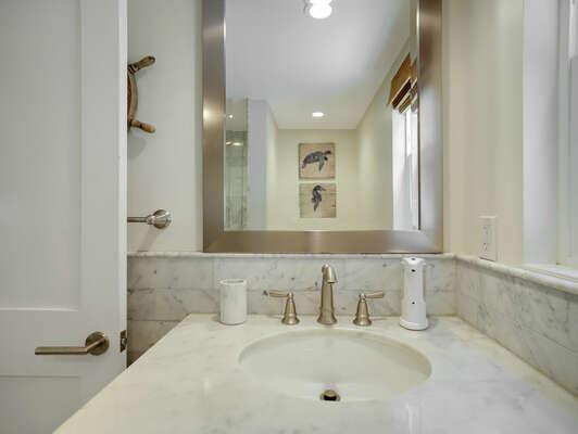 Shared Full Bathroom w/ Shower - First Floor