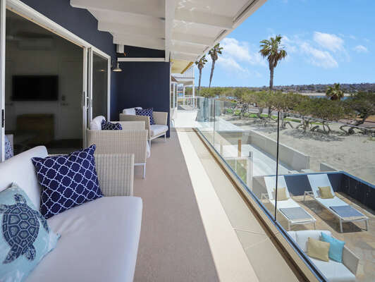 Incredible Views from the Master Bedroom Private Deck