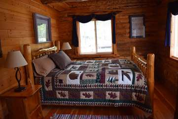 Bedroom 1 - Main floor, different view