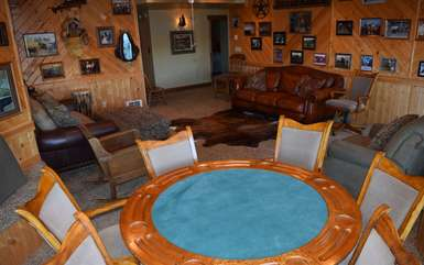 Downstairs card room