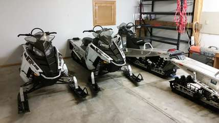 Snowmobiles to Rent while at the Cabin