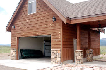 A garage is also available for your use during your stay.