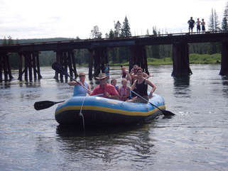 Float trips can take several hours.