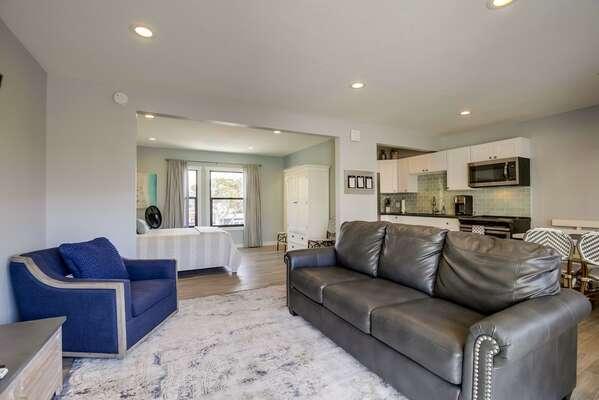 Image of Open Floor Plan in Vacation Condo in San Diego.