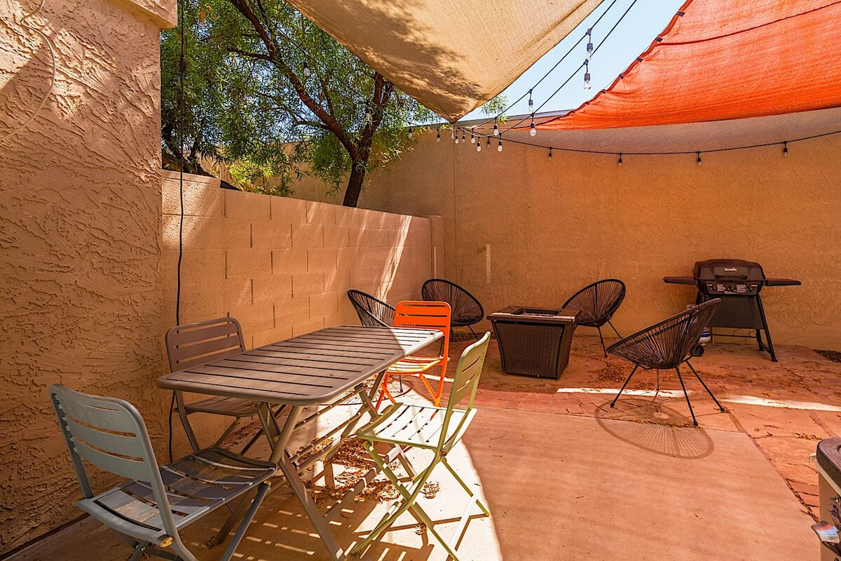 Grill out and enjoy your next meal under these vibrant patio shades
