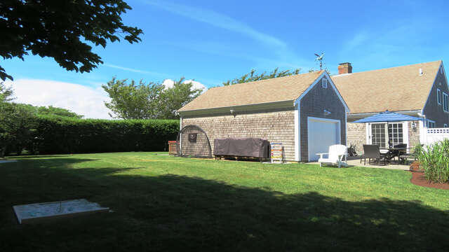 Enjoy a round of horseshoes! - 66 The Cornfield Chatham Cape Cod - New England Vacation Rentals