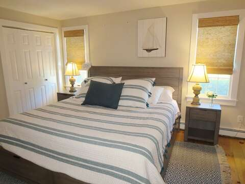 1st floor bedroom with king size bed - 66 The Cornfield Chatham Cape Cod - New England Vacation Rentals