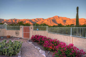 The Superstition Mountains are sure to bring you good luck throughout your stay