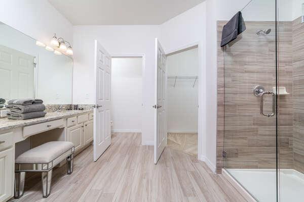 Downstairs Bedroom Private Bathroom