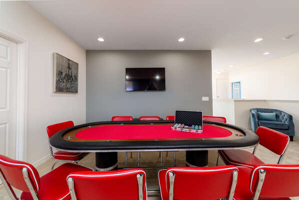 Full Size Poker and Card Table
