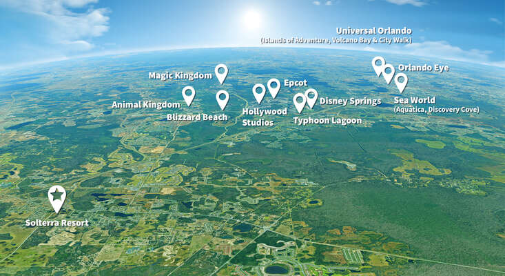 Solterra Resort Close to Orlando Attractions