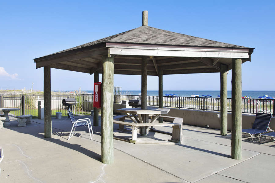 Grilling and Covered Picnic Area