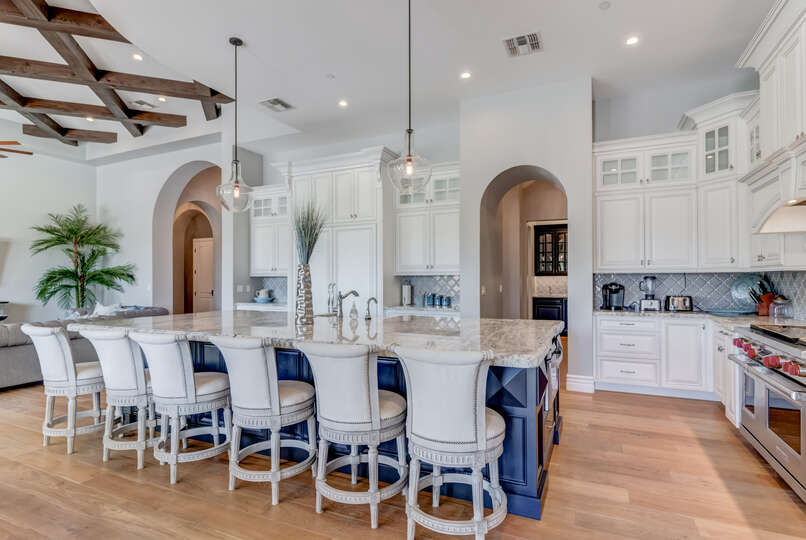 Enjoy a Luxury Kitchen in Our Scottsdale Vacation Home Rental.