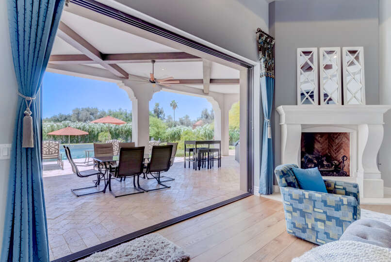 Experience Indoor/Outdoor Living in Our Scottsdale Vacation Home Rental.