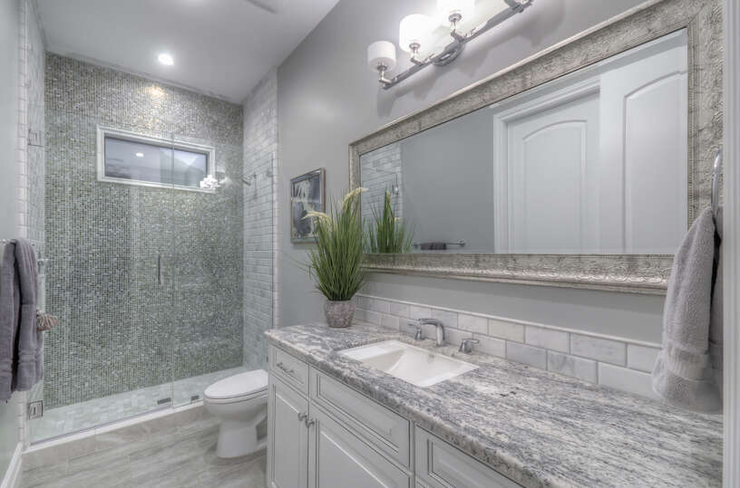 Luxury Bathroom in Scottsdale Vacation Home Rental.