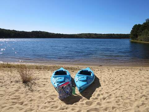 2 Kayaks provided (use at your own risk) - 1047 Old Queen Anne Road Chatham Cape Cod - New England Vacation Rentals
