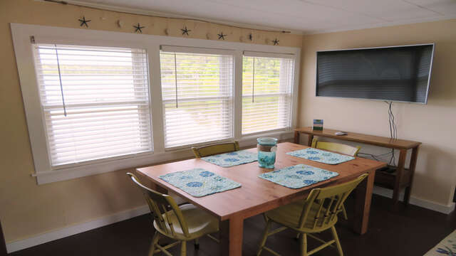 Large Flat Screen with Direct TV in Living room-1047 Old Queen Anne Road Chatham Cape Cod - New England Vacation Rentals