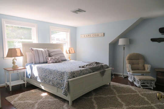 2nd flor bedroom with queen-55 High Point Drive North Chatham Cape Cod - New England Vacation Rentals