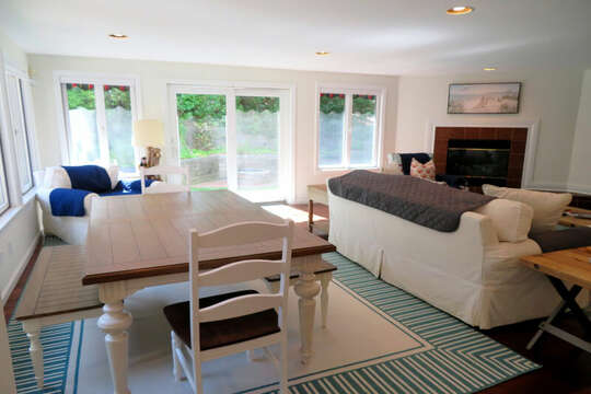 great game table - perfect for puzzles!! 55 High Point Drive North Chatham Cape Cod - New England Vacation Rentals
