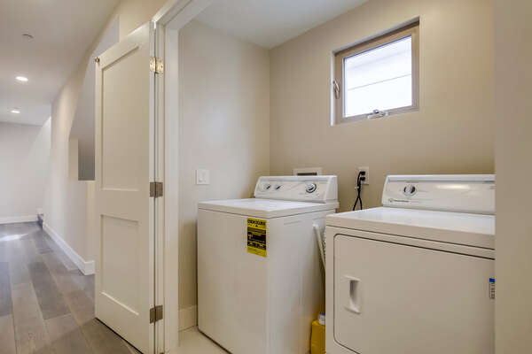 Laundry Room with Washer/Dryer - Second Floor Hallway