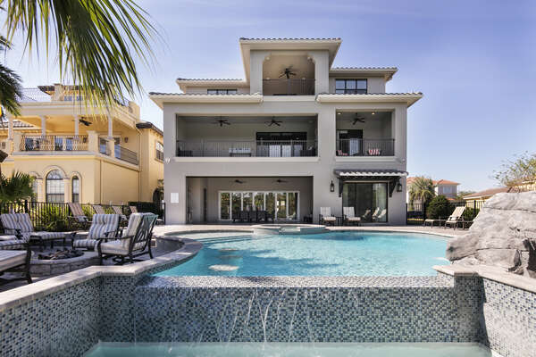 Plan an unforgettable vacation in this 7,901 sq. ft. villa